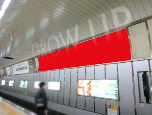 本町駅看板・ドーム広告写真